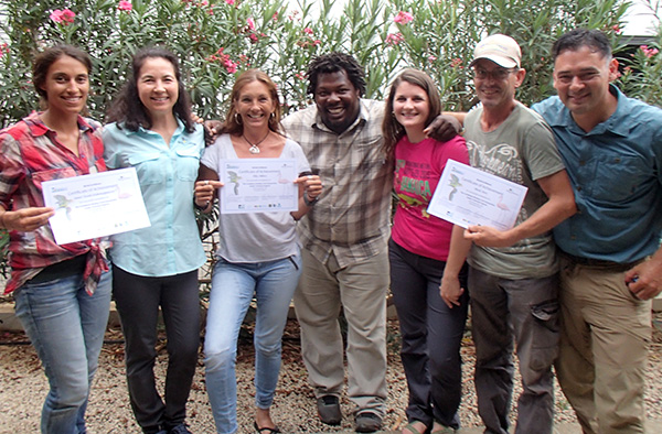 Mangrove Info Center Guides Receive Birding Certifications